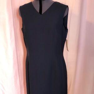 Liz Claiborne Navy Blue Knee Length Dress